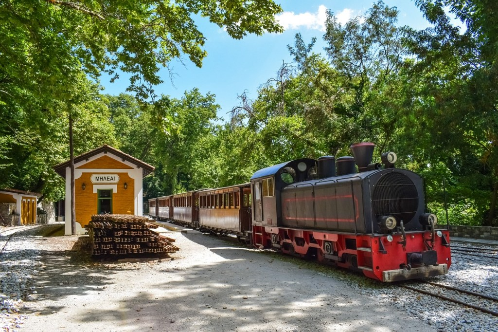 Greece - Melies, Rail - Travel
