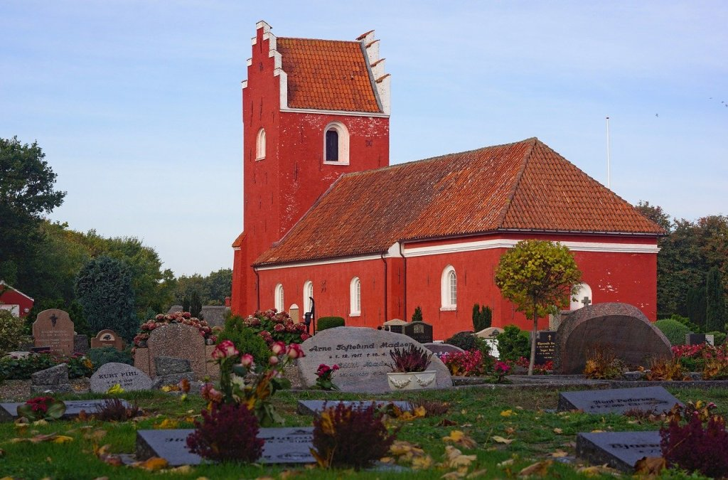 Danmark - Læsø, kirke - rejser