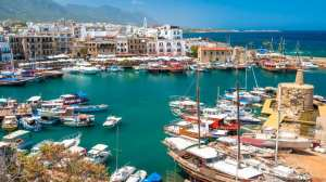 Cyprus - northern Cyprus port of kyrenia - travel - cyprus map