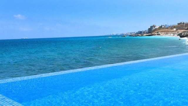 Lebanon - beach resort beach Batroun