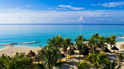 Mexico - Playa del Carmen - beach - travel