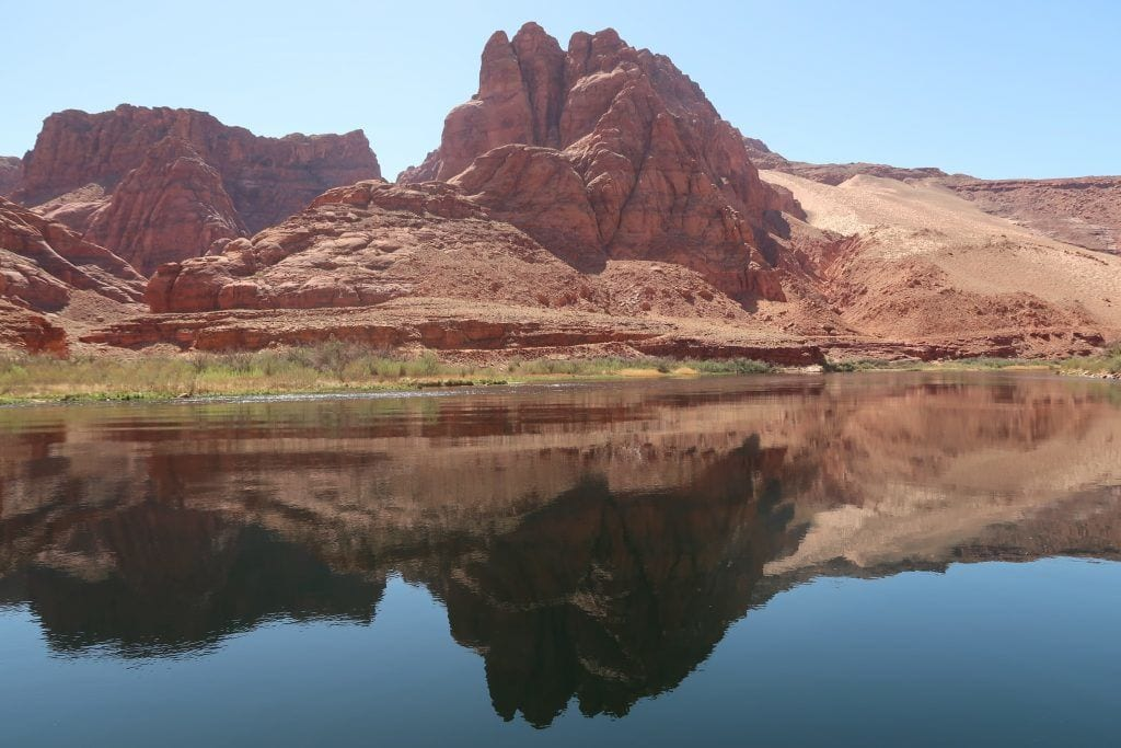 संयुक्त राज्य अमेरिका - नदी प्रकृति चट्टानों - यात्रा - नाव यात्रा