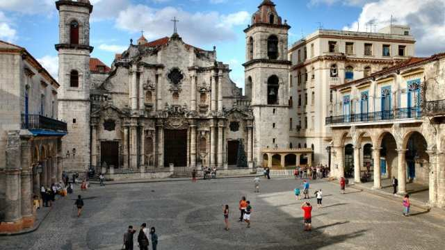 Cuba - church city havana - travel