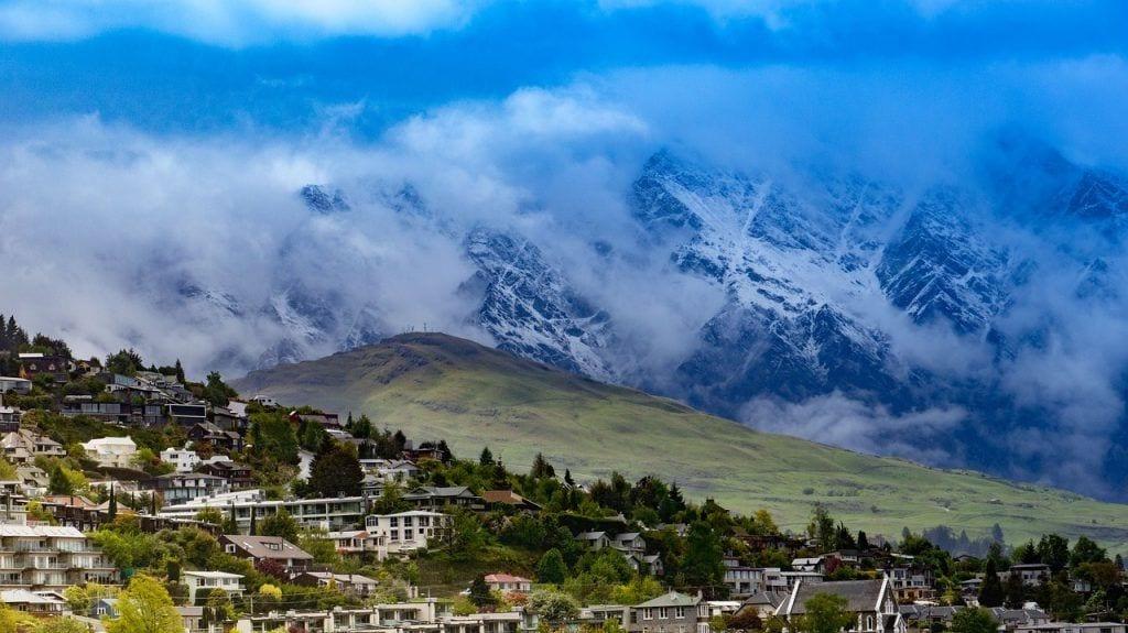 New Zealand - bjerge natur queenstown - rejser