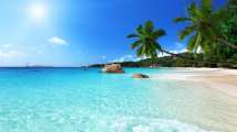 seychellerne, beach