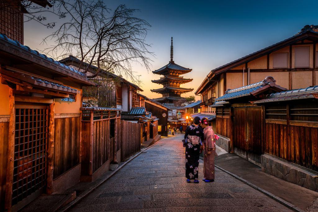 Kyoto - Attracties in de Japanse tempel -