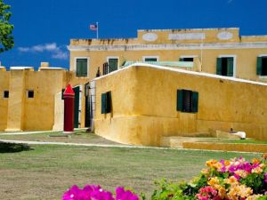 The West Indies - St Croix - fort - travel