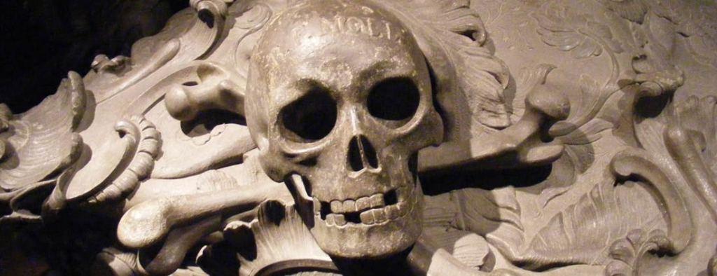 Vienna, Capuchin crypt, skeleton, skull, travel