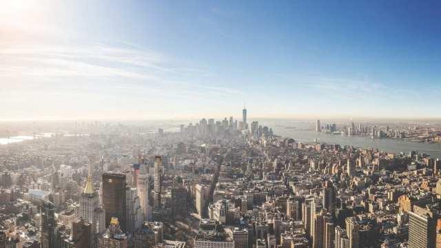 New York - pogled na grad SAD - putovanje