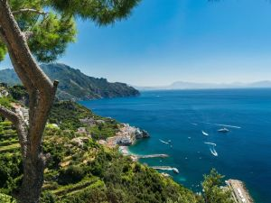 Amalfi kysten, Italien, rejser