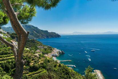 Amalfikysten, Italia, reise