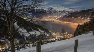 Østrig Zell Am See - udsigt sø bjerge - rejser