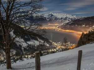 אוסטריה צל אם סי - צופה אל הרי האגם - נסיעה