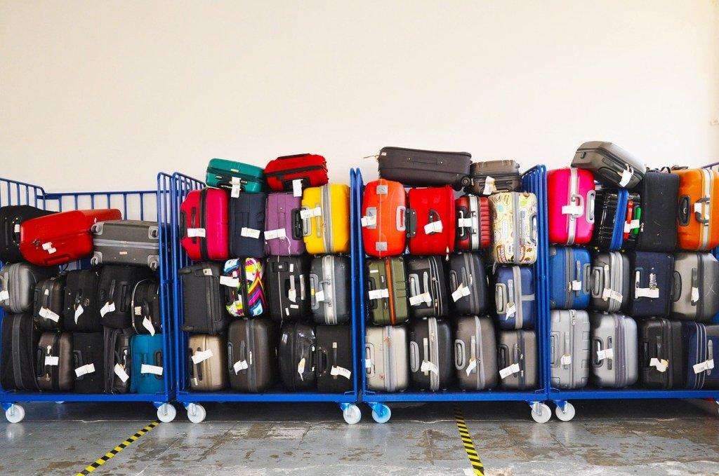 Bagasje, kofferter, vogn - reise