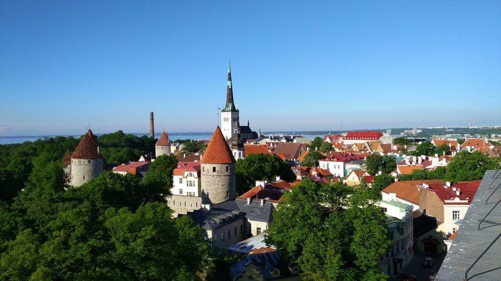 Ταλίν - κτίρια πόλη Εσθονία - ταξίδια