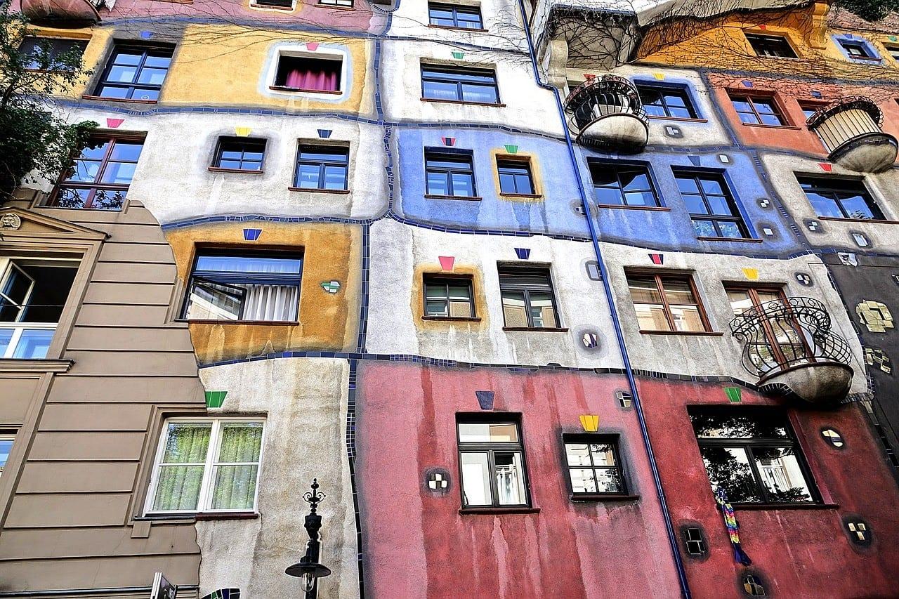 Østrig - Wien, Hundertwasserhaus - rejser