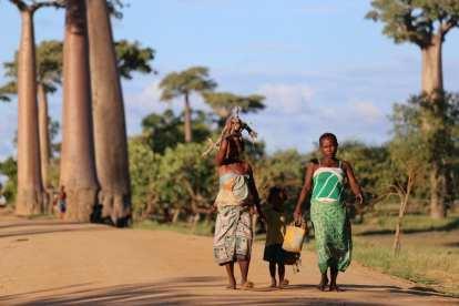 Madagaskar - barnkvinnakultur - resor