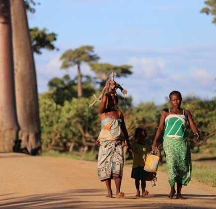 Madagaskar - barn kvinder kultur - rejser