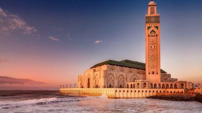 Casablanca moské - Marokko