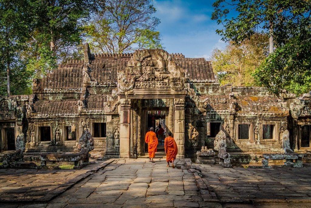 munk tempel kultur - rejser