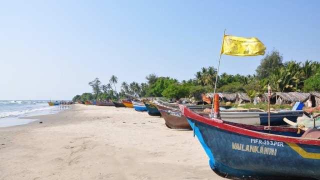 Indland - Goa, strönd, bátar - ferðalög