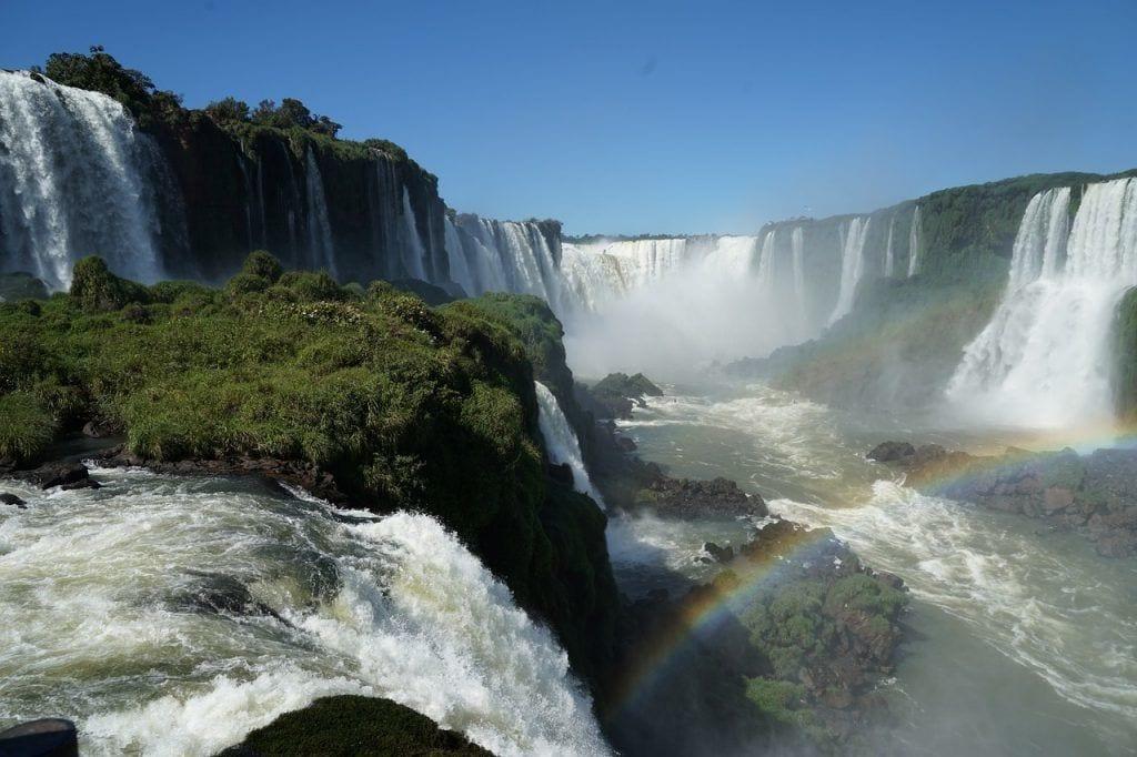 vandfald - Brasilien - Argentina- rejser