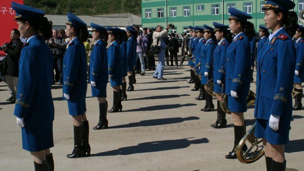Nordkorea - parade - rejser