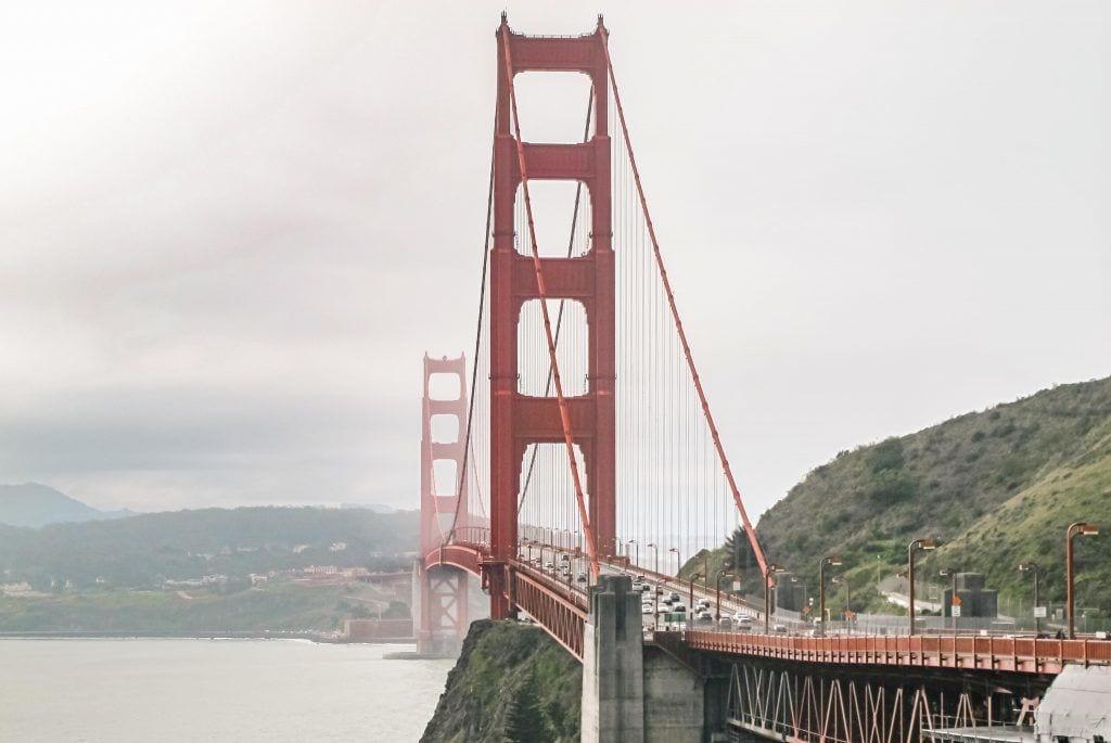 संयुक्त राज्य अमेरिका - सैन फ्रांसिस्को, कैलिफोर्निया, पुल, शहर, गोल्डन गेट - यात्रा