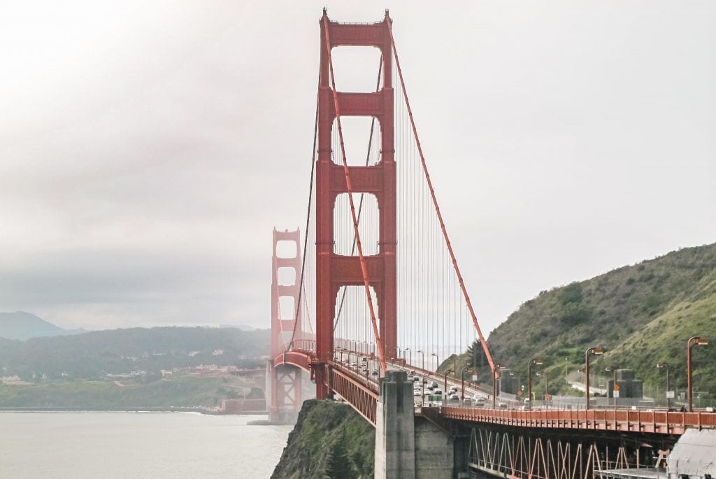 USA - San Francisco, Californien, bro, by, golden gate - rejser