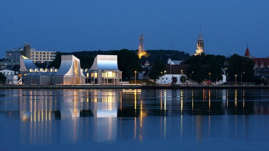 Aalborg waterfront - north jutland -visit north jutland