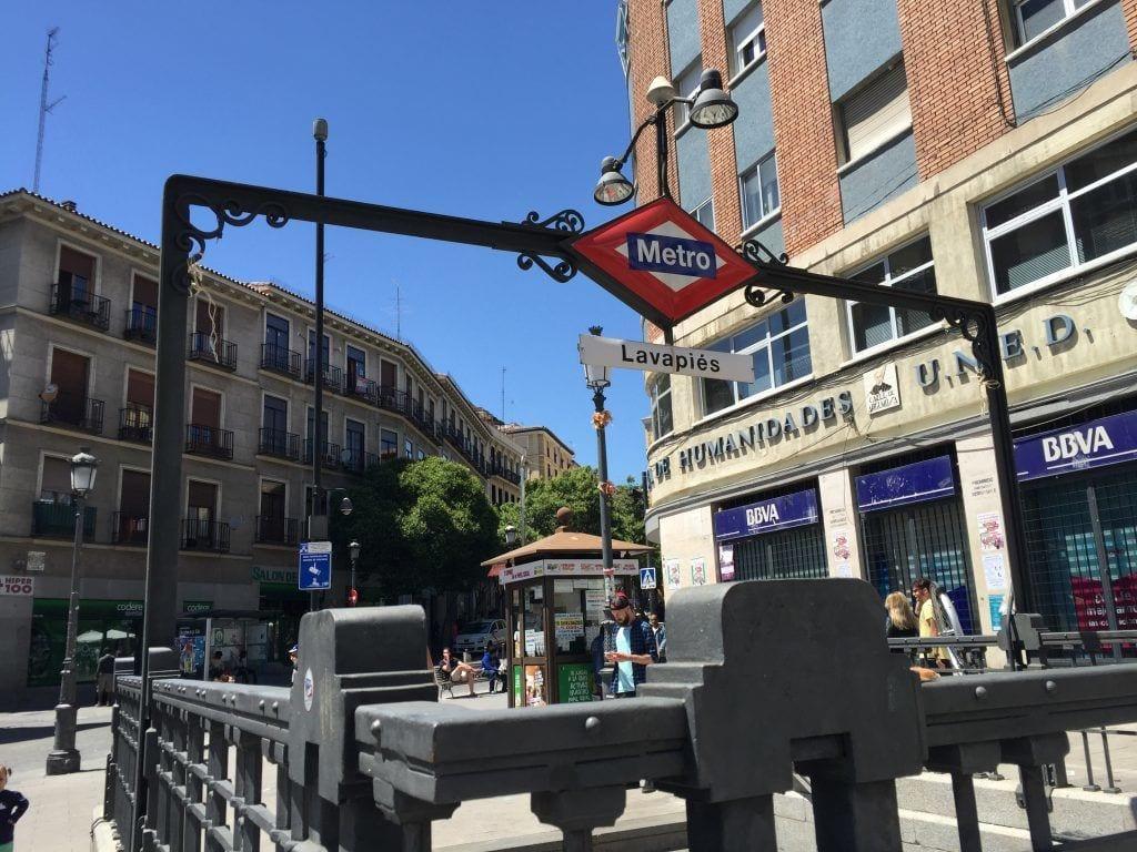 Metro - Madrid . Rejser