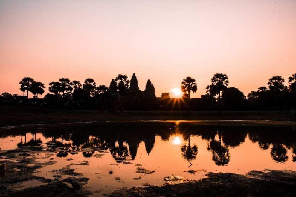Cambodia - tempel - Angkor Wat