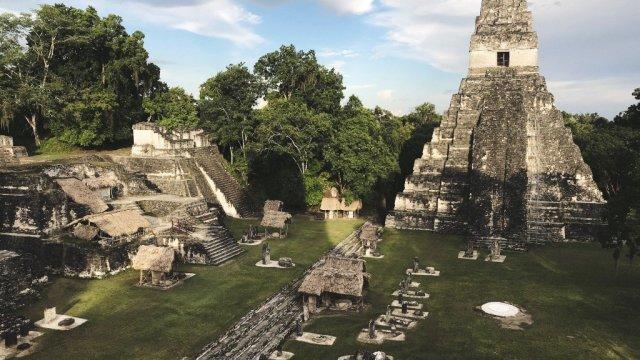 Guatemala-Mayan Temple
