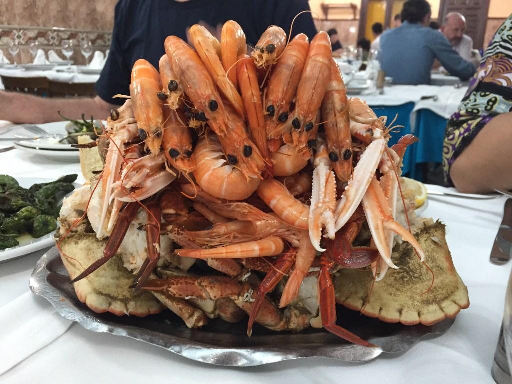 Španjolska odmor u Madridu hrana. Putovati