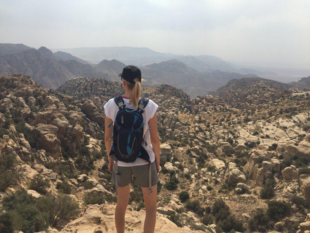 Wadi Dana-udsigt-klipper