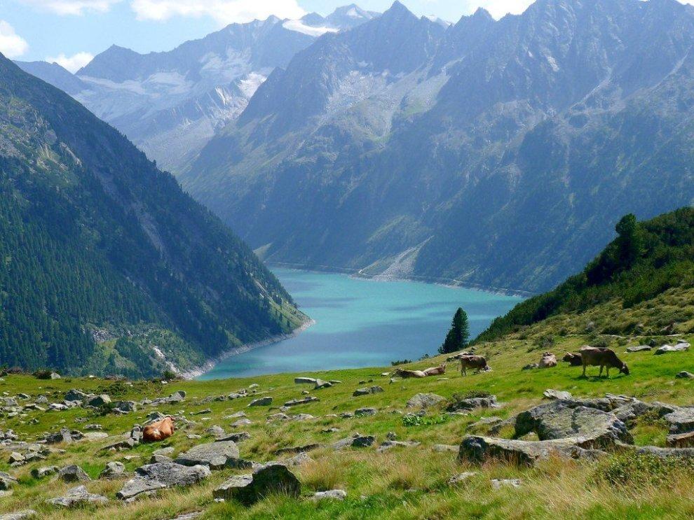 Zillertal-Austrija-planina