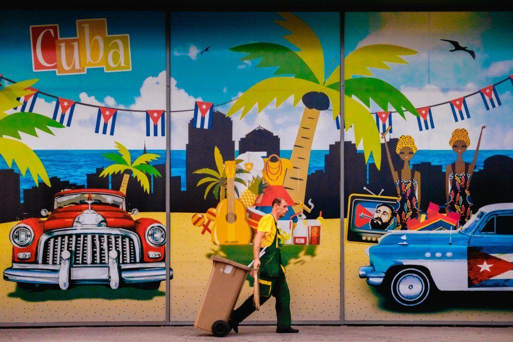 Cuba - Havanna - vægmaleri - rejser