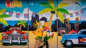 קובה - הוואנה - ציור קיר - נסיעות
