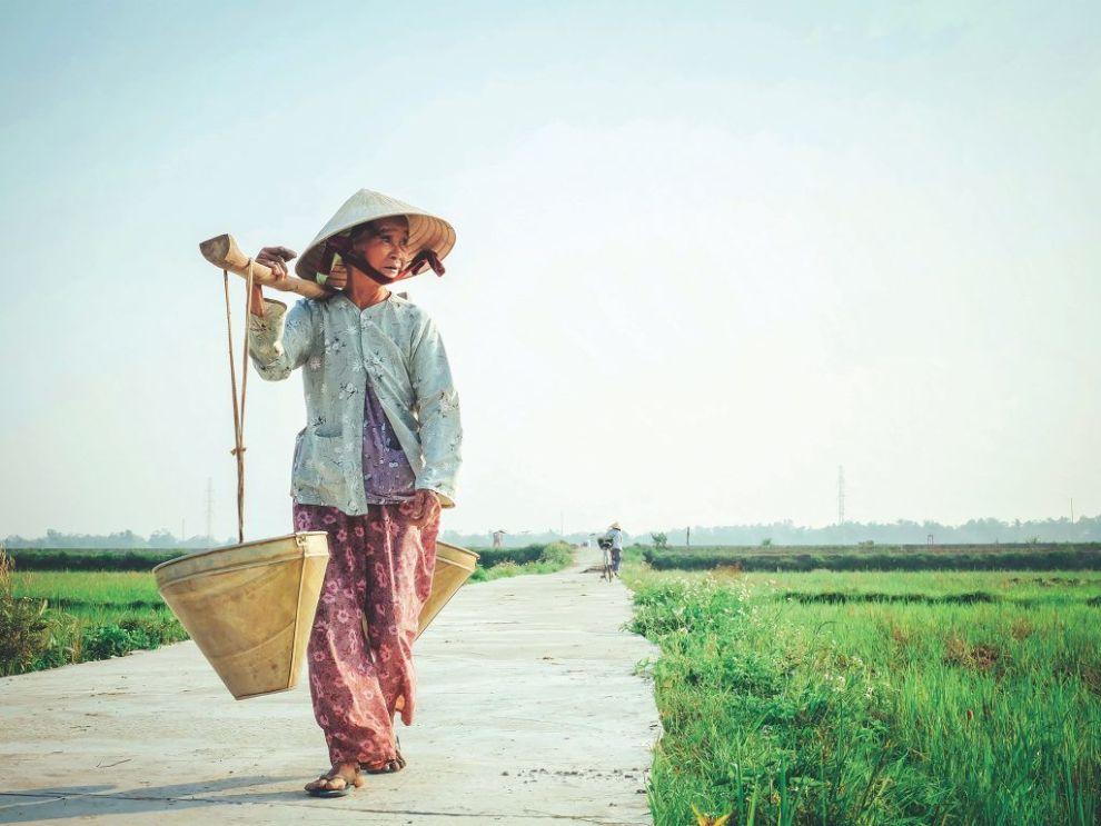 Vietnam - kvinde - rejser