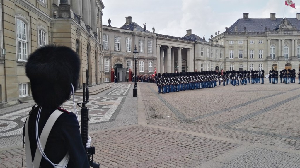 Danmark - København, Amalienborg, garder - rejser