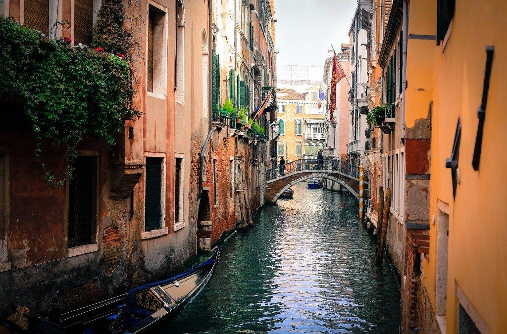 Most spawn Venecije, putovanje u Veneciju
