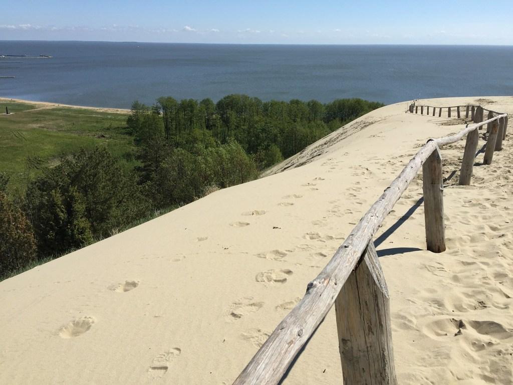 Kaliningrad, Königsberg, Østersøen, den kuriske landtange, rejser