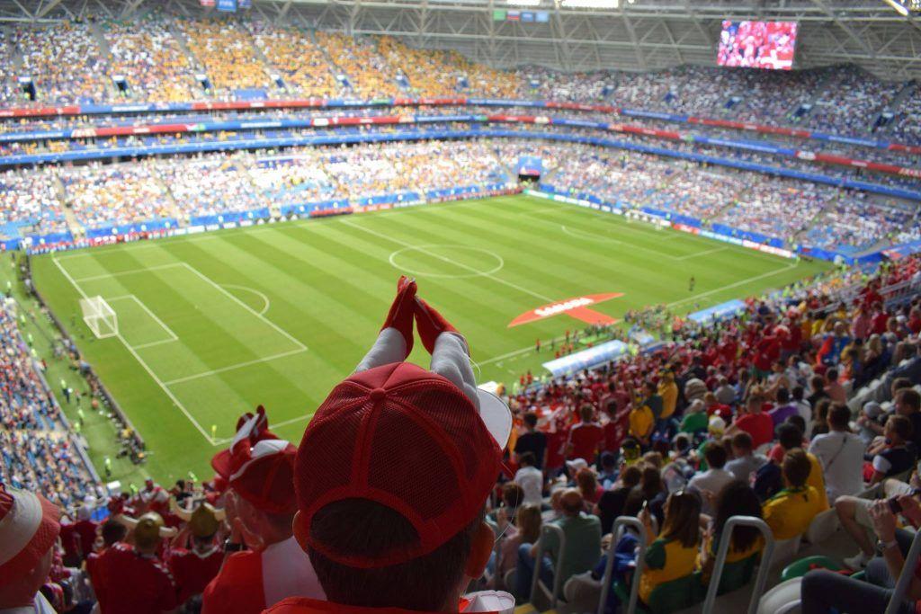 Fodbold rejser landsholdet