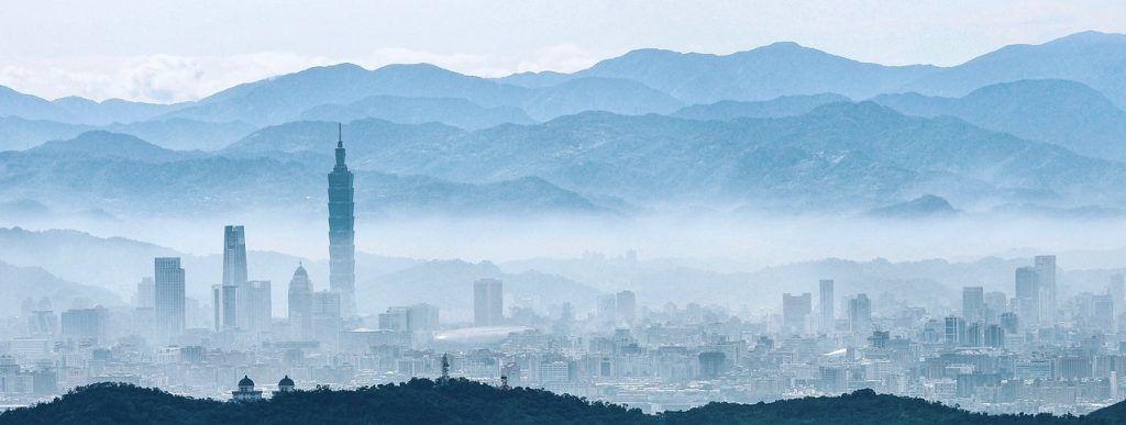 Taiwan - skyline, dis - rejser