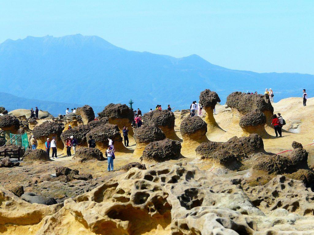 Yehliu Geopark - Taipei - Ferie i Taiwan - Rejser