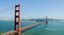 गोल्डन गेट ब्रिज - सैन फ्रांसिस्को - कैलिफोर्निया - यूएसए