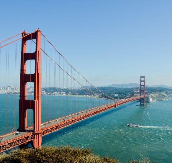 Golden Gate Köprüsü - San Francisco - Kaliforniya - ABD