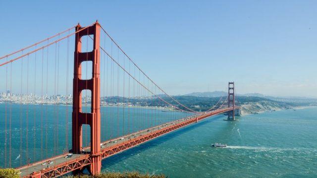 Golden Gate Bridge - San Francisco - Californien - USA