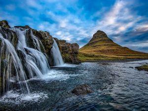 Islande, nature, cascades