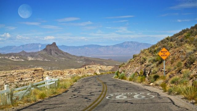 Route 66, USA, Voyage